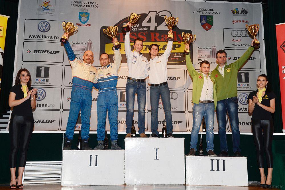Szabó Csongor și Robert Maior. Cei doi s-au clasat pe locul doi în cursa aferentă categoriei lor