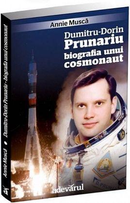 """Primul cadou pentru abonaţi, cartea  """"Dumitru-Dorin Prunariu – Biografia unui cosmonaut"""""""