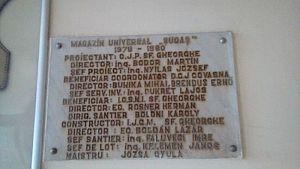 mag Sugas - placa