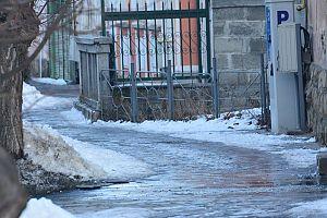 Sf Gheorghe - strazi trotuare iarna (9)