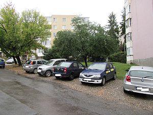 parcare neamenajata