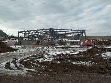 Centru de biomasa Intorsura Buzaului lucrari ianuarie 2016 - 1