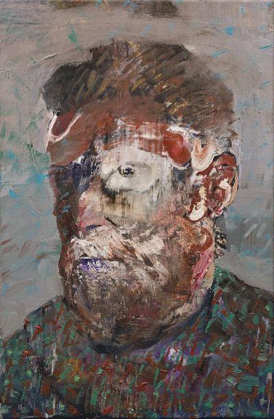 Self-Portrait as Vincent Van Gogh