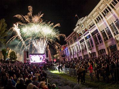 Artificii Zilele Sfantu Gheorghe mai 2014 - 6