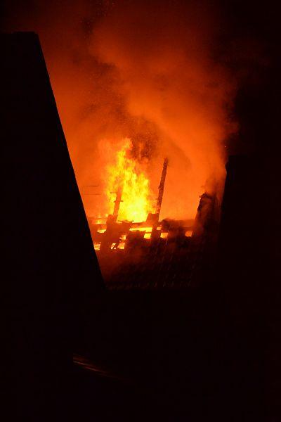 Incendiu fabrica Intorsura decembrie 2013 - 2