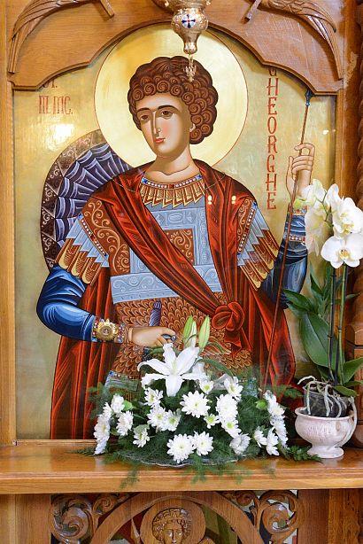 icoana SF GHEORGHE -catedrala Sfantu