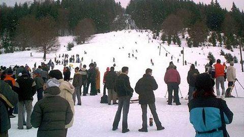 85 de participanţi la concursul de schi de la Covasna
