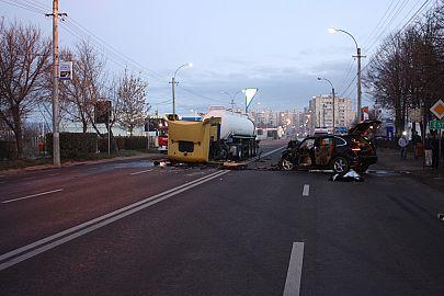 Accident mortal Sfantu Gheorghe