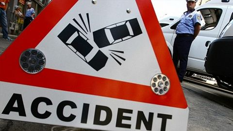 Accident mortal pe DJ 121