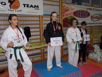 """Cupa """"Mos Nicolae"""" la karate"""