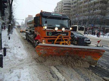 Drumurile nationale, pregatite pentru ninsori