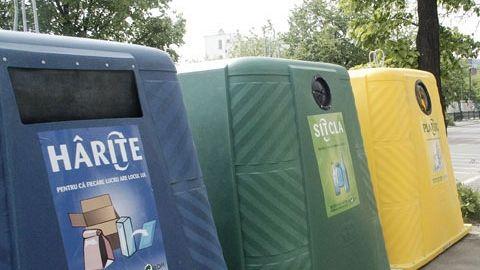 """Mobilizare pentru câştigarea titlului """"Oraşul reciclării"""""""