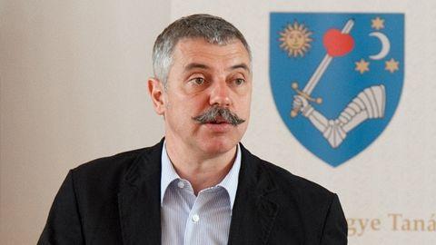 Tamás Sándor a salutat public schimbarea prefectului de Covasna