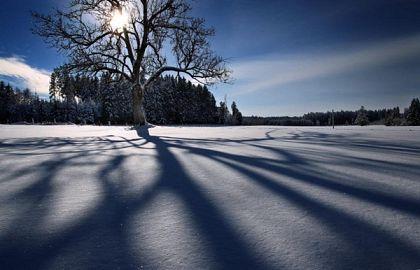 Vreme iarna soare