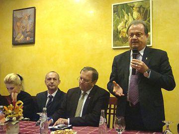 Vicepreşedintele PDL Raluca Turcan, preşedintele PDL Covasna Codruţ Opaiţ, vicepreşedintele PDL Gheorghe Flutur şi preşedintele PDL Vasile Blaga