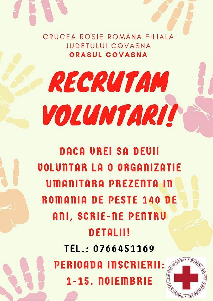 Crucea Rosie-voluntari Covasna