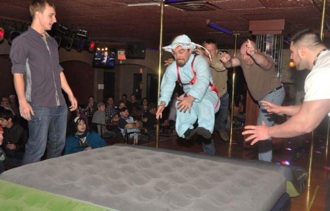 Dwarf-tossing
