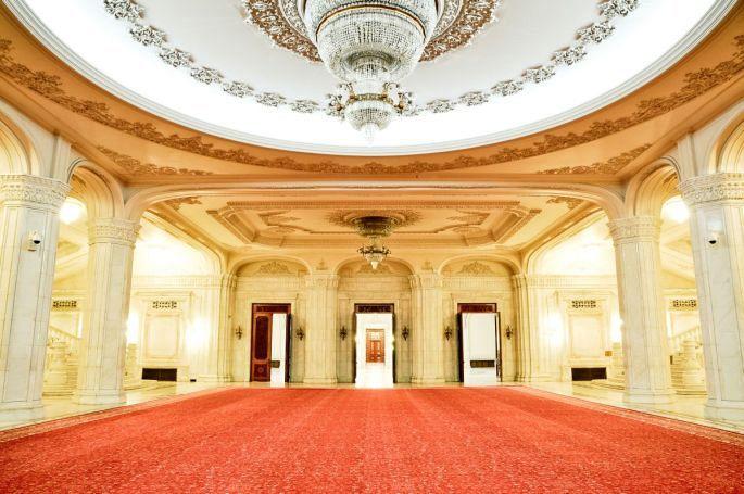 Palatul Parlamentului (interior)