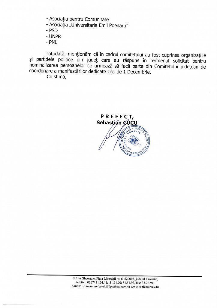 Raspunsul Prefecturii la solicitarea Observatorului de Covasna, pag 2