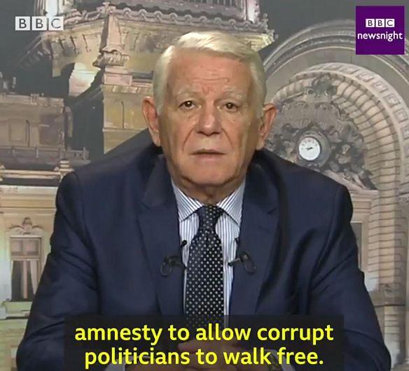 Sursa foto - Twitter, BBC Newsnight