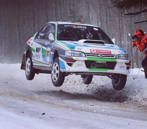Tempestini și Itu au impresionat în Covasna. Sursă foto: Rally Photo Hunters.
